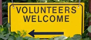 VolunteersWelcomeSign